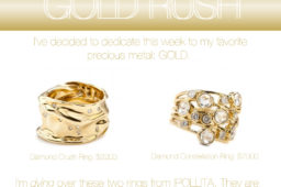 Ipollita Gold Crush Ring